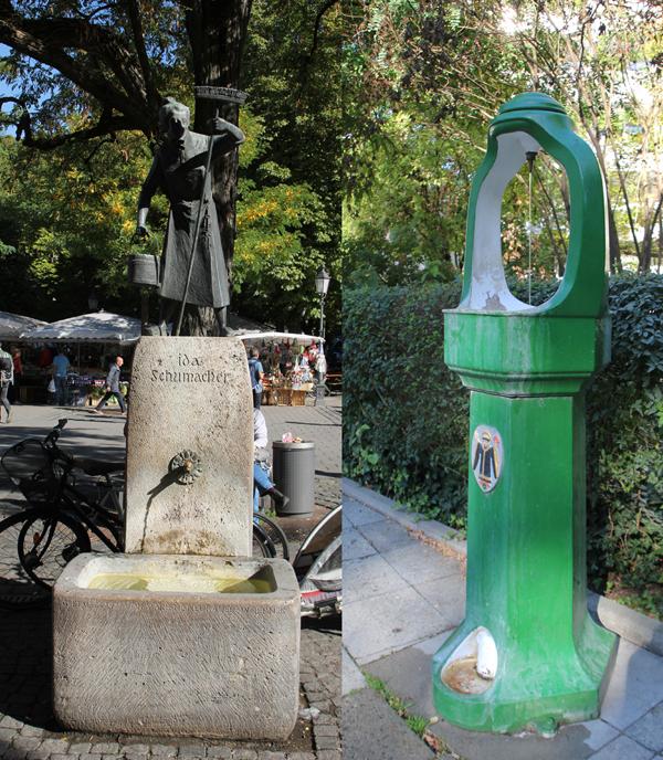 Trinkwasserbrunnen Muenchen